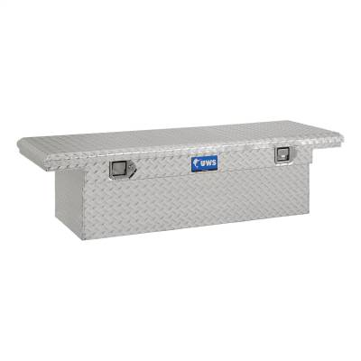 UWS - UWS 54in. Aluminum Single Lid Crossover Toolbox Low Profile (TBS-54-LP)