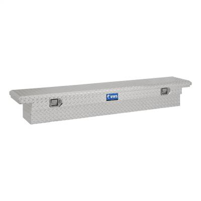 UWS - UWS 69in. Aluminum Single Lid Crossover Toolbox Slim Line Low Profile (TBS-69-SL-LP)