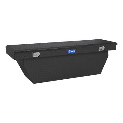 UWS - UWS 69in. Aluminum Single Lid Crossover Toolbox Deep Angled Matte Black (TBSD-69-A-MB)
