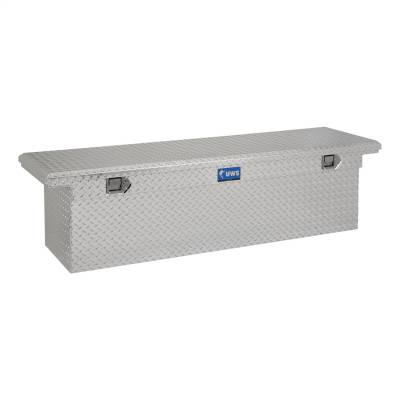 UWS - UWS 69in. Aluminum Single Lid Crossover Toolbox Deep Low Profile (TBSD-69-LP)