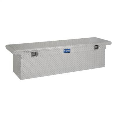 UWS - UWS 69in. Aluminum Single Lid Crossover Toolbox Deep Low Profile (TBSD-69-LP)