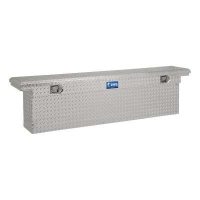 UWS - UWS 69in. Aluminum Single Lid Crossover Toolbox Deep Slim Line Low Profile (TBSD-69-SL-LP)