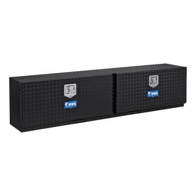 UWS - UWS 90in. Aluminum Topsider Tool Box Double Door Black (TBTS-90-BLK)