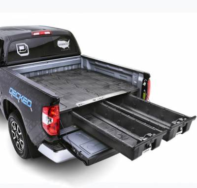 Decked - DECKED Truck Bed Organizer 15-Pres Ford F150 Aluminum 5 Ft 6 Inch (DF4-FXWQ)