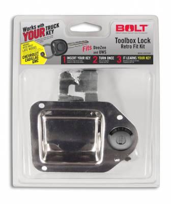 BOLT - BOLT TOOLBOX LATCH GM LATE MODEL (GM-B) 7022697