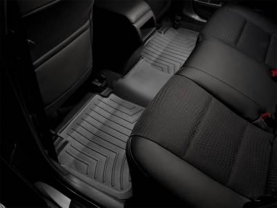 Weathertech - FloorLiner(TM) DigitalFit(R)  Black; Fits Vehicles w/Under Seat Storage