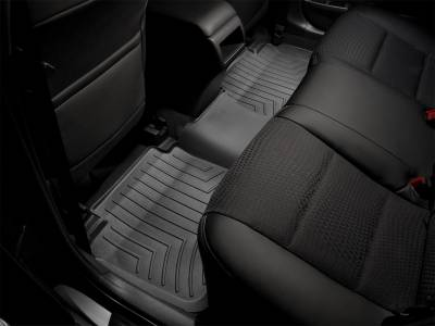 Weathertech - FloorLiner(TM) DigitalFit(R)  Black; Fits Vehicles w/Armrest Console