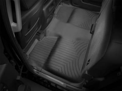 Weathertech - FloorLiner(TM) DigitalFit(R)  Black; Provides Under Seat Coverage