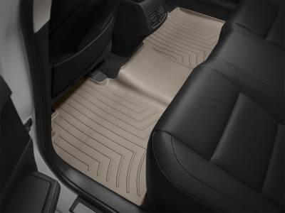 Weathertech - FloorLiner(TM) DigitalFit(R)  Tan; Fits Vehicles w/Full Length Floor Console