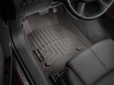 Weathertech - FloorLiner(TM) DigitalFit(R)  Cocoa; Provides Under Seat Coverage