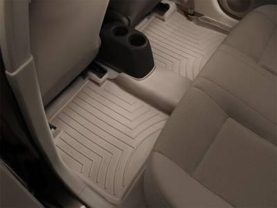 Weathertech - FloorLiner(TM) DigitalFit(R)  Tan; Fits Vehicles w/1st Row Bench Seat