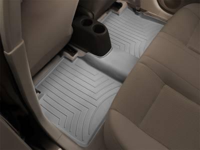 Weathertech - FloorLiner(TM) DigitalFit(R)  Gray; Trim Required For Bench Seat