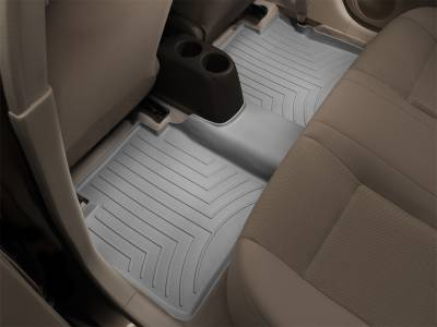 Weathertech - FloorLiner(TM) DigitalFit(R)  Gray; Fits Vehicles w/1st Row Bench Seat
