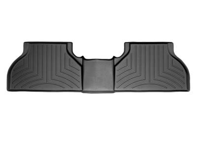 Weathertech - FloorLiner(TM) DigitalFit(R)  Black; Trim Required For 1st Row Bench Seat
