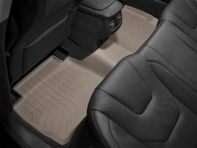 Weathertech - FloorLiner(TM) DigitalFit(R)  Tan; Driver And Passenger Side Floor Hooks