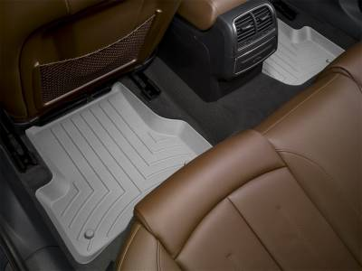 Weathertech - FloorLiner(TM) DigitalFit(R)  Gray; Does Not Fit Bucket Seat w/Flow Through Console