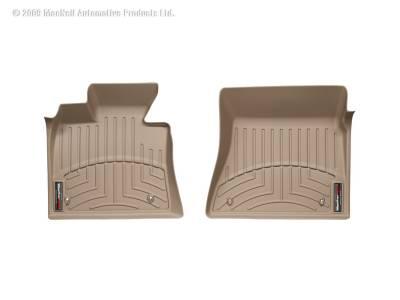 Weathertech - FloorLiner(TM) DigitalFit(R)  Tan; Fits Vehicles w/Driver And Passenger Side Floor Posts