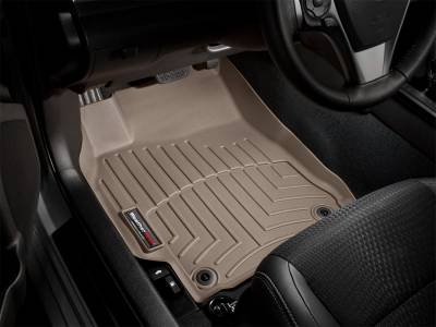 Weathertech - FloorLiner(TM) DigitalFit(R)  Tan; Fits Vehicles w/1st Row Under Seat Heating Vents And w/Dual Floor Posts; Does Not Fit Vehicles w/4x4 Floor Mounted Shifter