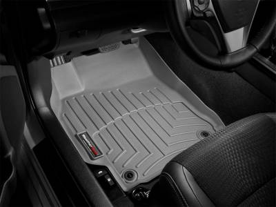 Weathertech - FloorLiner(TM) DigitalFit(R)  Gray; 40/20/40 Bench Seat Only; Does Not Fit Vehicles w/Floor Mounted 4x4 Shifter; Fits Vehicles w/Dual Floor Posts