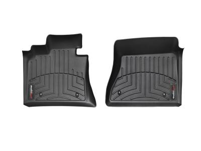 Weathertech - FloorLiner(TM) DigitalFit(R)  Black; Front Over-The-Hump; Fits Raised Left Corner; Does Not Fit Vehicles w/Floor Mounted Manual 4x4 Shifter And Flow Through Console