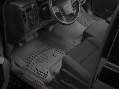 Weathertech - FloorLiner(TM) DigitalFit(R)  Black; Fits Vehicles w/Bench Seat Only; Over-The-Hump