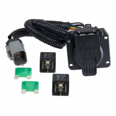 CURT - CURT T-CONNECTOR, 4 WIRE TO 7-WIRE UPGRADE KIT (55243)