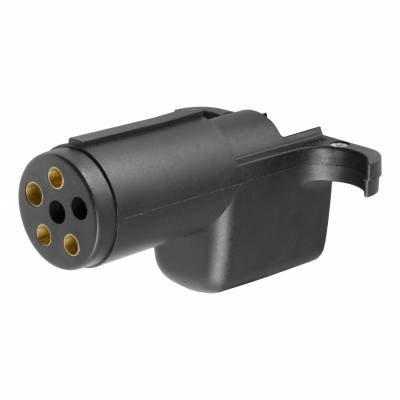 CURT - CURT  6-Way Round Electrical Adapter
