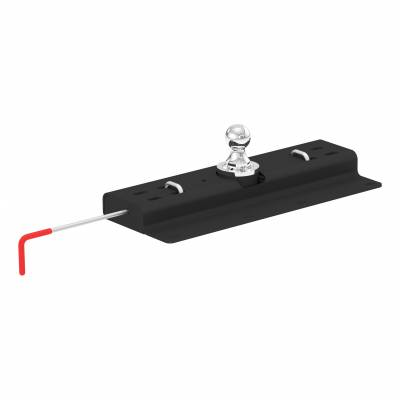 CURT - CURT DOUBLE LOCK GOOSENECK HITCH (60615)