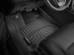 Weathertech - FloorLiner(TM) DigitalFit(R)  Black; Fits Vehicles w/1st Row Bucket Seating; Not Equipped w/Floor Mounted Shifter