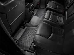 Weathertech - FloorLiner(TM) DigitalFit(R)  Black; Fits Vehicles w/1st Row Bucket Seating