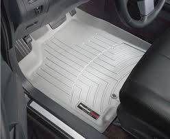 Weathertech - FloorLiner(TM) DigitalFit(R)  Gray; Fits Vehicles w/1st Row Bucket Seating; Not Equipped w/Floor Mounted Shifter