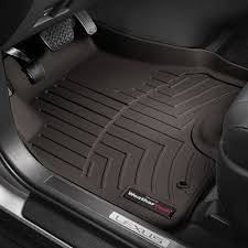 Weathertech - FloorLiner(TM) DigitalFit(R)  Cocoa; Fits Vehicles w/1st Row Bucket Seating; Not Equipped w/Floor Mounted Shifter