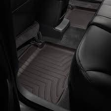 Weathertech - FloorLiner(TM) DigitalFit(R)  Cocoa; Fits Vehicles w/1st Row Bucket Seating