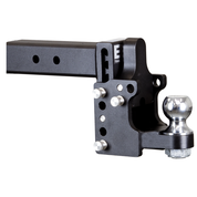 B&W - B&W Tow & Stow 8.5in Drop/4.5in Rise W/2 5/16 In Ball Class V 2 1/2in Receiver/Pintle Black (TS20056)