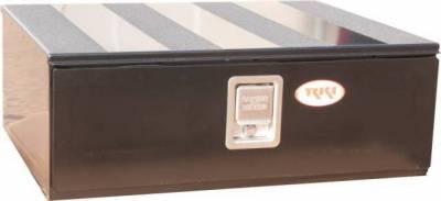 RKI - RKI Floor Drawer 30 X 10 X 24 Black (FD301024B)