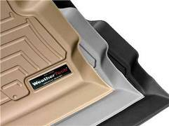 Weathertech - FloorLiner(TM) DigitalFit(R)  Black; w/Armrest Console; Does Not Fit Vehicles w/Floor Mounted Shifters