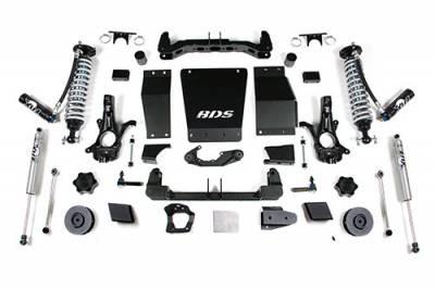 "BDS - BDS Suspension Lift Kit - 15-18 GM1500 SUV 4"" -Cast Steel UCA (733F)"