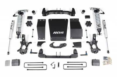 BDS - BDS Suspension Lift Kit - 6in Front C/O /4in Rear Block (710F)