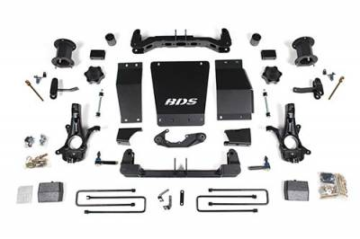 BDS - BDS Suspension Lift Kit - 6in Front/4in Rear w/Magneride (725H)