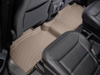 Weathertech - Weathertech  Rear  FloorLiner   DigitalFit   Tan  (450052)