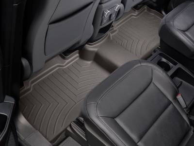 Weathertech - Weathertech  Rear  FloorLiner   DigitalFit   Black  (4410123)