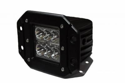 """DV8 Offroad - DV8 - 3""""  LED   Flush Mount Lights   24W spot   3W   (B3FM24W3W)"""