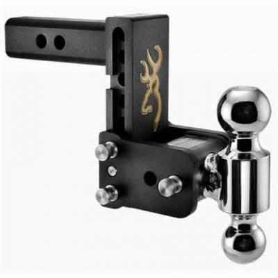 "B&W - B & W   Tow & Stow  8"" Model  Dual Ball  5"" Drop / 5.5"" Rise   Browning Edition (TS10037BB)"