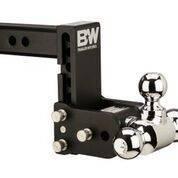 """B&W - B&W   Tow & Stow    8"""" Model    Tri Ball  5"""" Drop / 5.5"""" Rise   Black   (TS10048B)"""