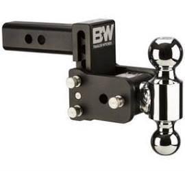 "B&W - B&W   Tow & Stow   Dual Ball   2"" Hitch   3"" Drop, 3.5"" Rise   Black  (TS10035B)"