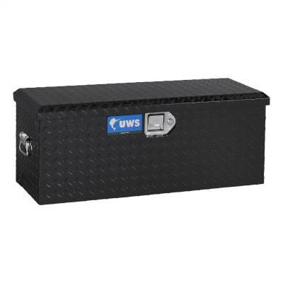 Aluminum - UWS Chest Boxes Aluminum - UWS - UWS Aluminum Toolbox For ATV S Black (ATV-BLK)