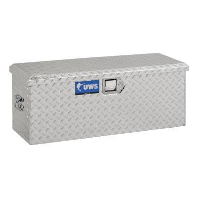 Aluminum - UWS Chest Boxes Aluminum - UWS - UWS Aluminum Foot Locker Storage Box (FOOT-LOCKER)