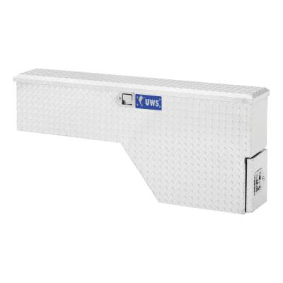 Aluminum - UWS Chest Boxes Aluminum - UWS - UWS 48in. Aluminum Fender Well with Draw Slide Driver Side (FW-48-DS-D)