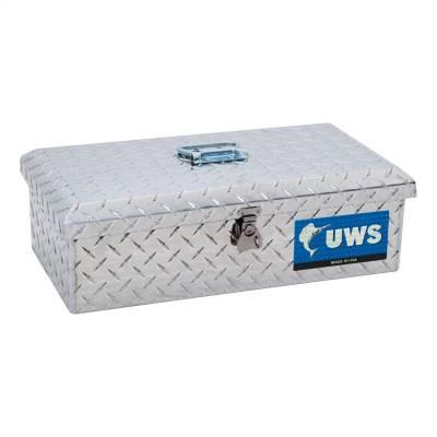 Aluminum - UWS Chest Boxes Aluminum - UWS - UWS Aluminum Toolbox Small (TB-1)
