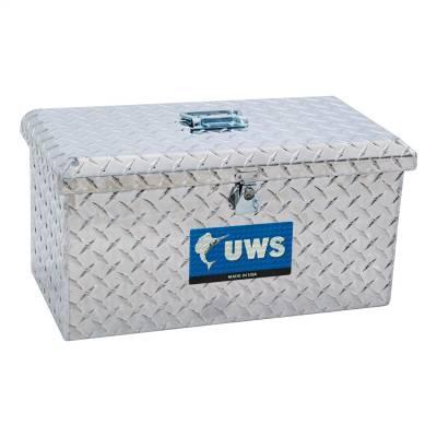 Aluminum - UWS Chest Boxes Aluminum - UWS - UWS Aluminum Toolbox Large (TB-2)